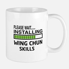 Please wait, Installing Wing Chun skill Mug