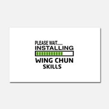 Please wait, Installing Wing Ch Car Magnet 20 x 12