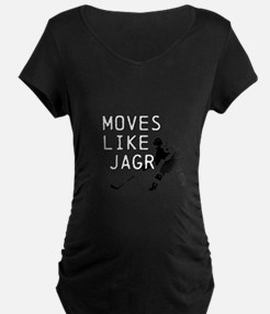Moves Like Jagr Maternity T-Shirt