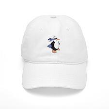 Super Hero Penguin Baseball Baseball Cap
