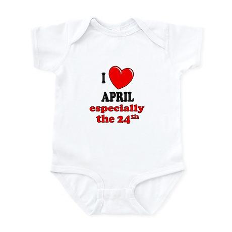 April 24th Infant Bodysuit