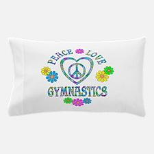 Peace Love Gymnastics Pillow Case