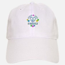 Peace Love Gymnastics Baseball Baseball Cap