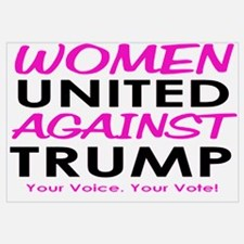 Women United Against Trump Wall Art