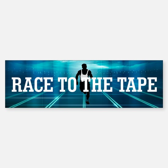 Race to the Tape Sticker (Bumper)