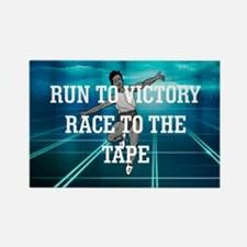 Race to the Tape Rectangle Magnet (10 pack)