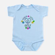 Peace Love Golf Infant Bodysuit