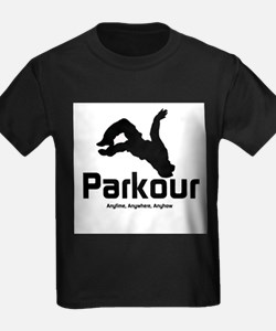 Parkour, Anytime Ash Grey T-Shirt