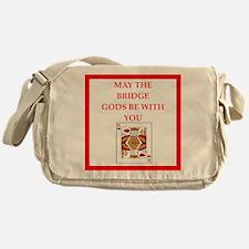 sports and gaming joke Messenger Bag