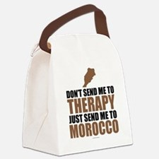 Send Me To MOROCCO Canvas Lunch Bag