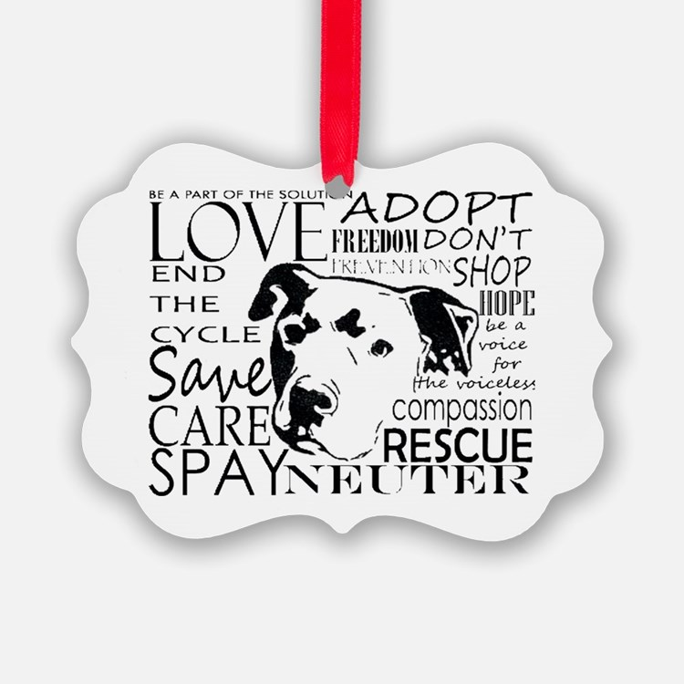 Cute Adopt Ornament