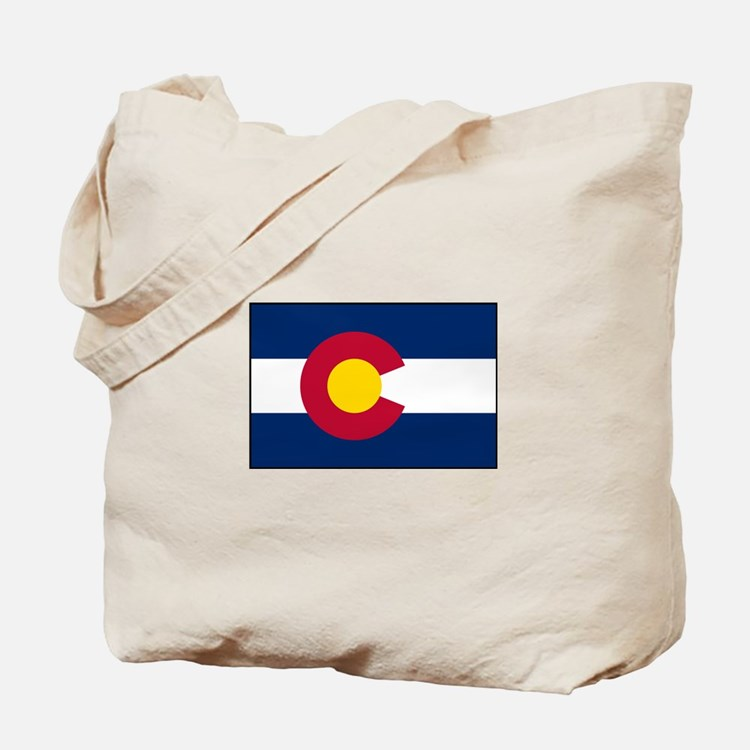 Colorado says Hillary is too Dumb Tote Bag