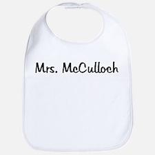 Mrs. McCulloch Bib