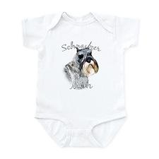 Std. Schnauzer Mom2 Infant Bodysuit