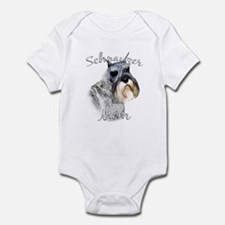 Std. Schnauzer Mom2 Infant Bodysuit