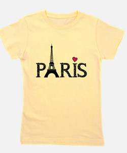 Unique Travel france Girl's Tee