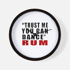 Rum Designs Wall Clock
