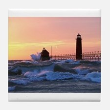 Grand Haven Splash Tile Coaster