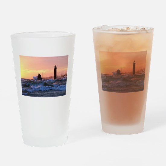 Grand Haven Splash Drinking Glass