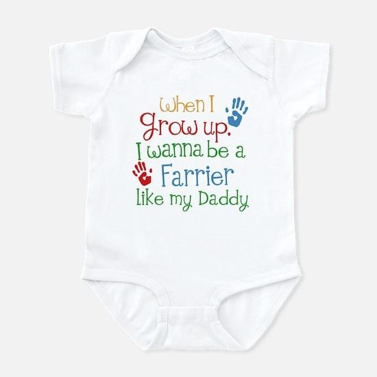 Farrier Like Daddy Infant Bodysuit