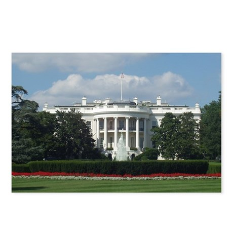 White House Postcards (Package of 8)