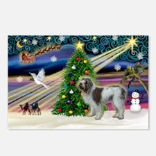 XmasMagic/Spinone (#13) Postcards (Package of 8)