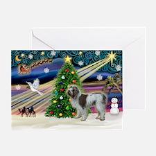 XmasMagic/Spinone (#13) Greeting Card