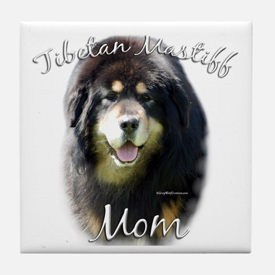 Tibetan Mom2 Tile Coaster