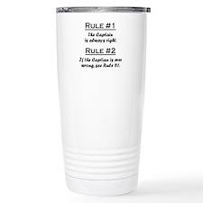 Funny Captain Travel Mug