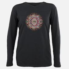 Mandala Plus Size Long Sleeve Tee