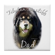 Tibetan Dad2 Tile Coaster