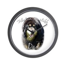 Tibetan Dad2 Wall Clock