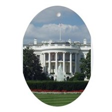 White House Oval Ornament