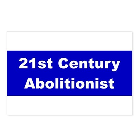 21st Century Abolitionist Postcards (Package of 8)