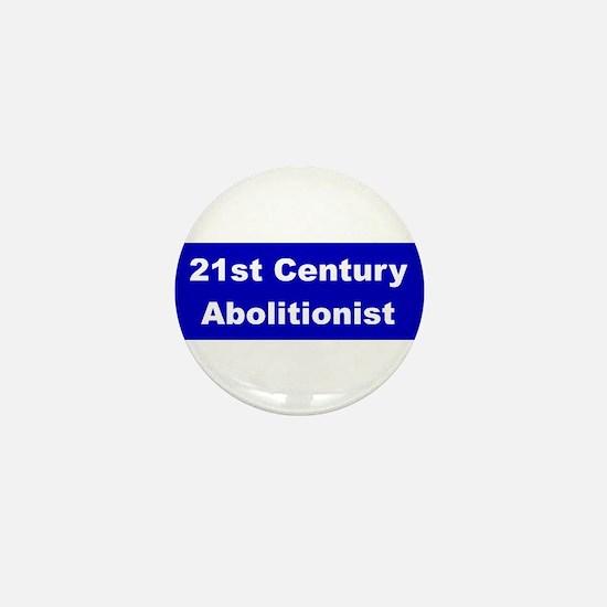 21st Century Abolitionist Mini Button