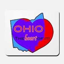 Ohio - The Heart Of It! Mousepad