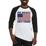 Anti trump Baseball Tee