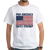 Anti trump Mens White T-shirts
