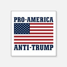 Pro-America Anti-Trump Sticker