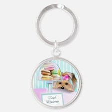 Macarons Signed Keychains