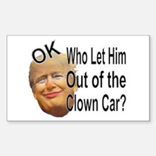 Out Of The Clown Car Decal