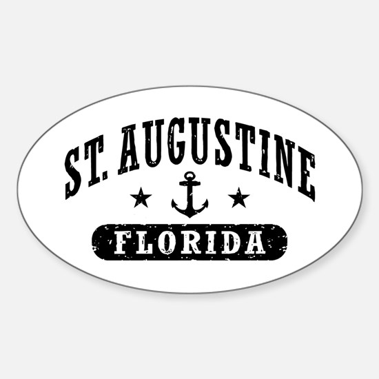 St. Augustine, Florida Sticker (Oval)