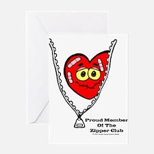 Cute Zipper club Greeting Card