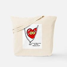 Unique Zipper Tote Bag