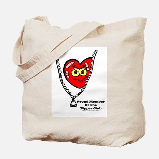 Cute Zipper Tote Bag