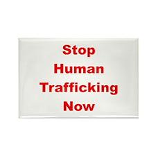 Stop Human Trafficking Now Rectangle Magnet