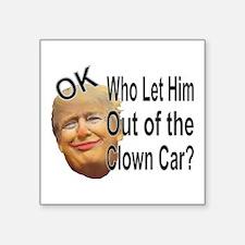 Clown's Car Sticker