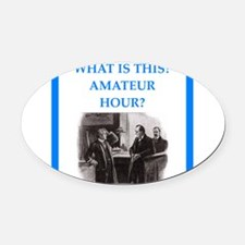 221b Oval Car Magnet