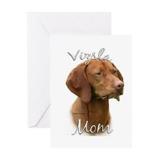Vizsla Mom2 Greeting Card
