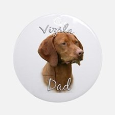 Vizsla Dad2 Ornament (Round)